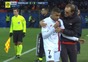Mbappé blanks Tuchel after being subbed off