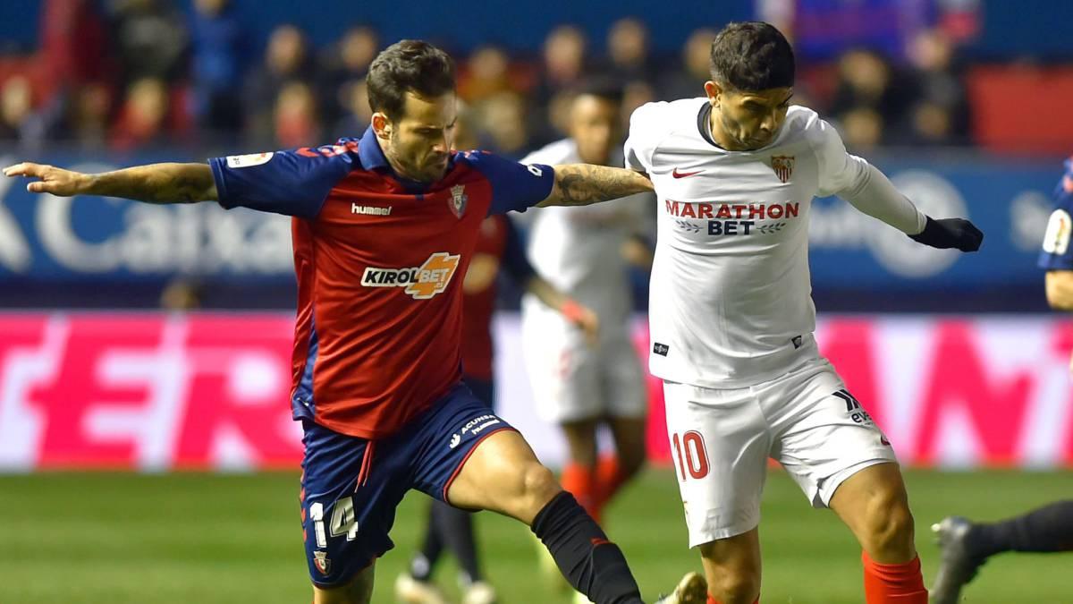 Osasuna 1 Sevilla 1 Resumen Resultado Y Goles Del Partido As Com