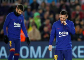 Messi, Pique sit out Barcelona's trip to Inter
