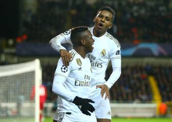 Rodrygo and Vinicius shine when Benzema is missing