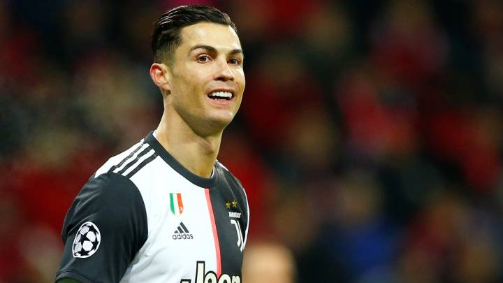 Cristiano Ronaldo durante el partido entre Bayer Leverkusen y Juventus de la Champions League.