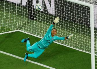 Keylor Navas still has his Champions League groove