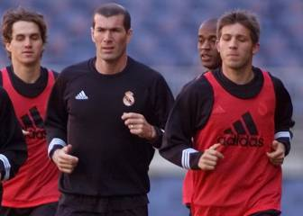 Friends in Madrid, rivals in Valencia - Zidane and Celades