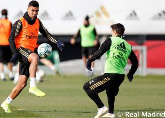 Real Madrid get ready for Mestalla with Casemiro a doubt