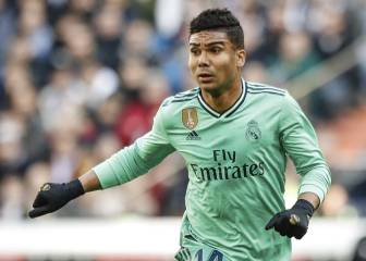 Zidane not holding back Casemiro as squad named for Valencia trip