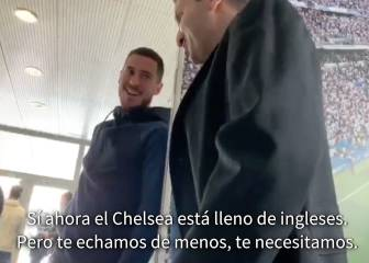 Hazard: When I'm finished at Real I'll go back to Chelsea