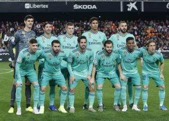 Real Madrid players ratings vs Valencia