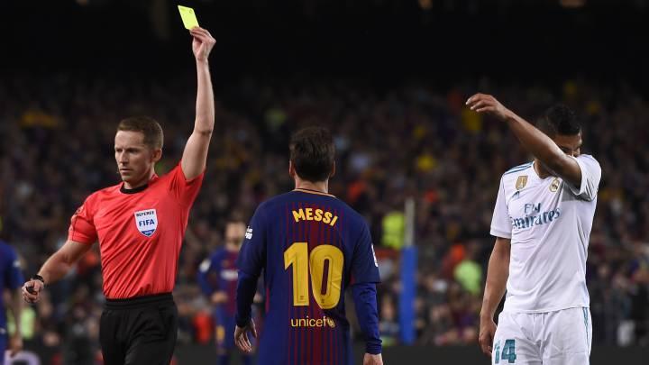 Hernández Hernández, el árbitro del Clásico entre Barcelona y Real ...