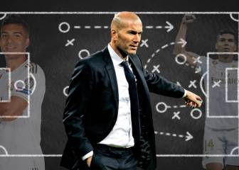Zidane has ready-made plan for suspended Casemiro