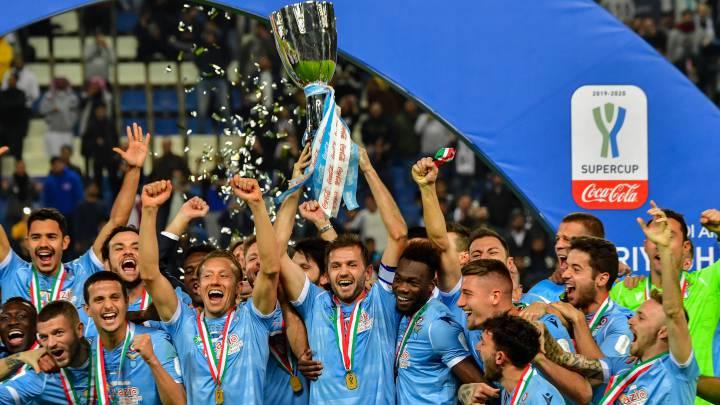 El Lazio tumba a la Juve de Cristiano y levanta la Supercopa