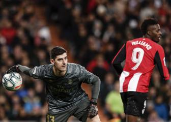 Courtois bemoans referee decisions after goalless Athletic draw