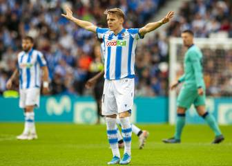 Odegaard poised for Real Madrid return in June 2020