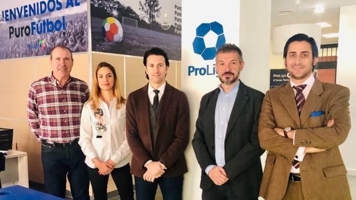 Primera reunión entre ProLiga y F-ON por el convenio de 2ªB