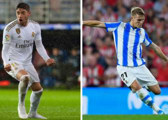 Fede Valverde and Ødegaard's market value has doubled