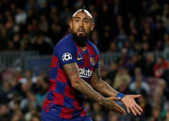 Vidal files claim against Barça over alleged unpaid bonuses