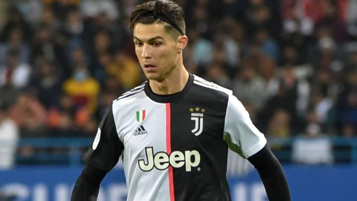 Cristiano, jugador de la Juventus.