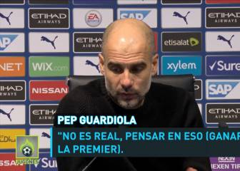 Guardiola ya no ve posible la Premier League