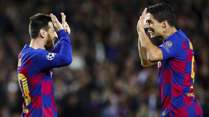 Desde la tormenta Anoeta, Messi y Suárez siempre en año nuevo