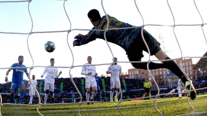 Real Madrid Courtois Leads Race For The Zamora Trophy As Com