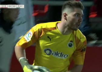 Luca Zidane salva al Racing