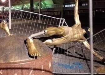 Ibrahimovic's statue vandalised again