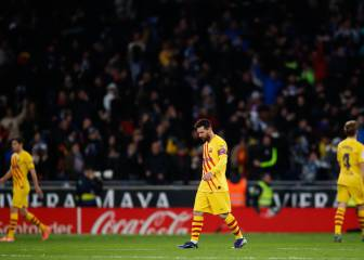 Barça's struggles away from home continue