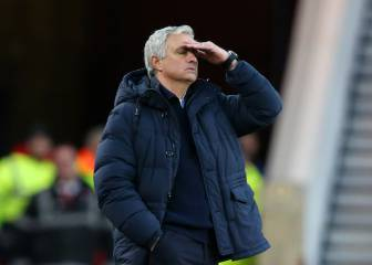 Mou's problems mount a month and a half into the job