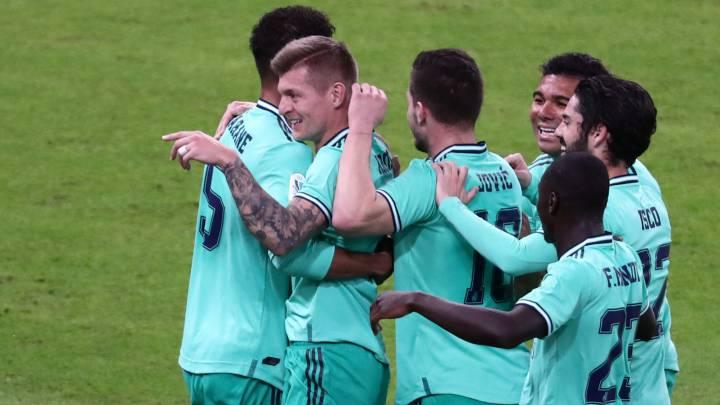 Valencia - Real Madrid, en directo hoy: Supercopa de España