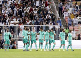 Real Madrid ratings vs Valencia in Spanish Super Cup semi-final