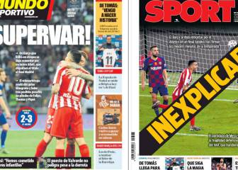 Catalan media wake up to Barcelona Super Cup defeat