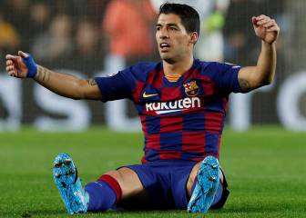 Suárez out for four months following knee surgery