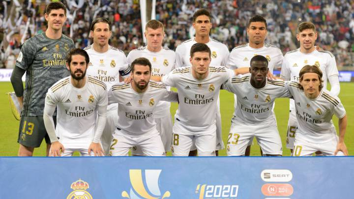 Real Madrid Player Ratings Vs Atletico Spanish Super Cup As Com
