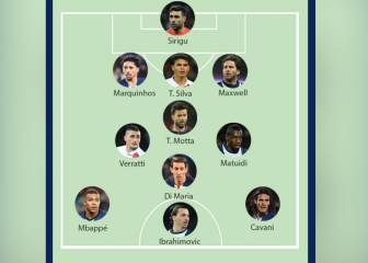 No Neymar in PSG Team of the Decade chosen by France Football