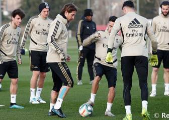 Ramos and Benzema return to training ahead of Sevilla clash