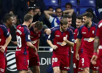 Osasuna remonta un 2-0 del Recreativo gracias al Chimy