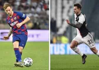 Juventus and Barça in talks over Bernardeschi-Rakitic swap deal
