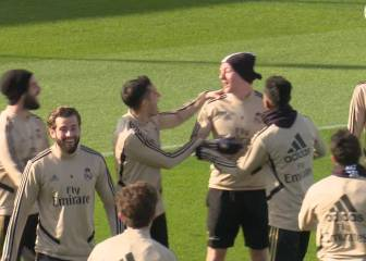 Real Madrid team-mates rejoice after Rodrygo nutmegs Kroos