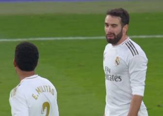Carvajal, booking-free for the Madrid derby