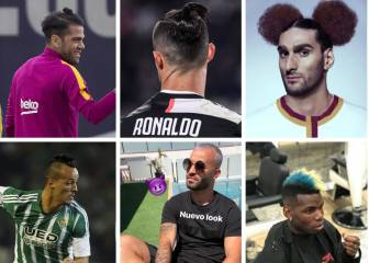 Most extravagant footballer haircuts