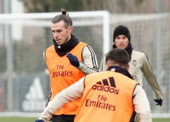 Bale and James both train after missing win over Sevilla