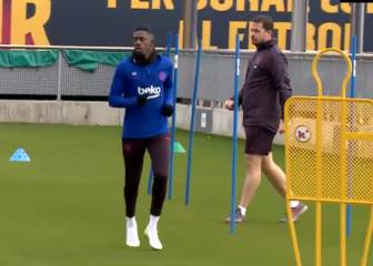 Dembélé into the final stage of his recovery programme