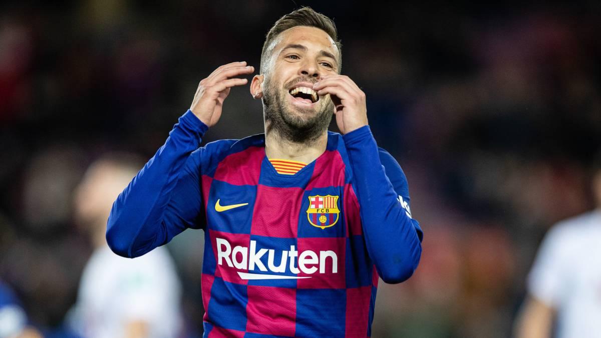 Barcelona: Jordi Alba's game-changing cameo - AS English