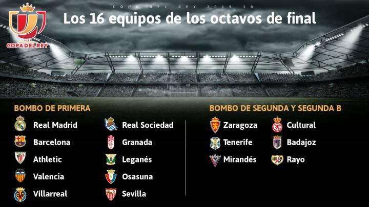Sorteo De Copa Del Rey Formato Reglas Y Bombos En Octavos As Com