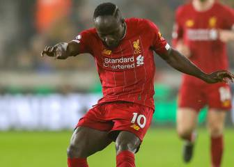 Liverpool's Sadio Mané facing three weeks on the sidelines