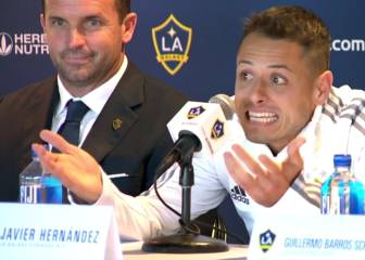 Chicharito unveiled by LA Galaxy