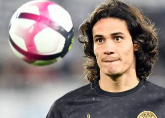 PSG reject Atlético Madrid's €15m bid for Edinson Cavani