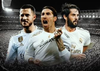 The Real Madrid squad's latest transfer values
