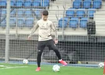 Asensio looking good as injury recovery continues
