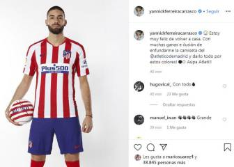 Carrasco launched straight into Atlético squad for Madrid clash