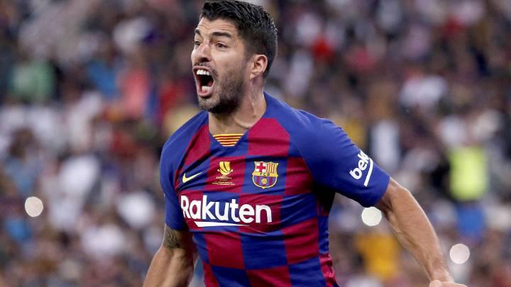 Suárez-dependencia en el Barça lejos del Camp Nou